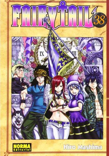 Manga Fairy Tail 38