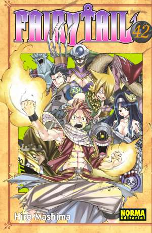 Manga Fairy Tail 42