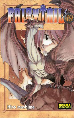 Fairy Tail manga tomo 49