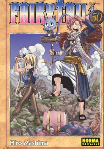 Fairy Tail manga tomo 50