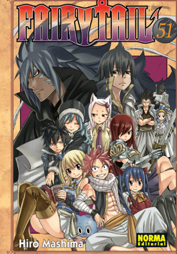 Fairy Tail manga tomo 51