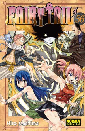 Fairy Tail manga tomo 56
