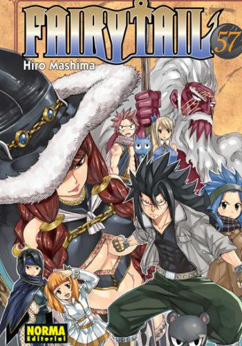 Fairy Tail manga tomo 57
