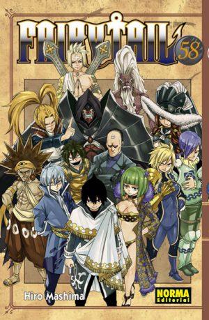 Fairy Tail manga tomo 58