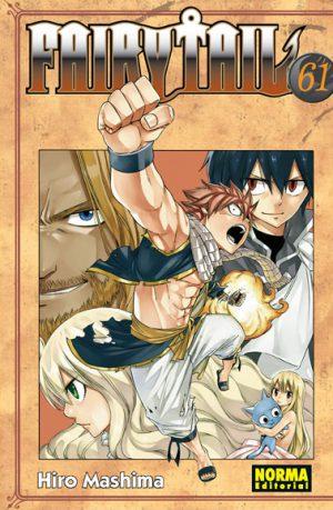 Fairy Tail manga tomo 61