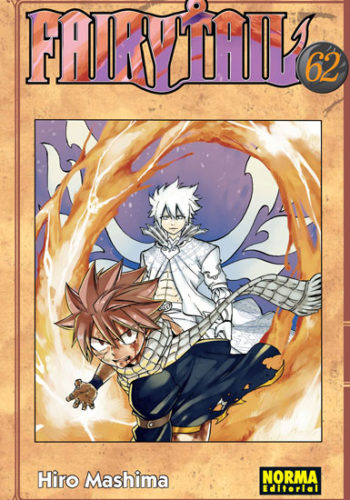 Fairy Tail manga tomo 62