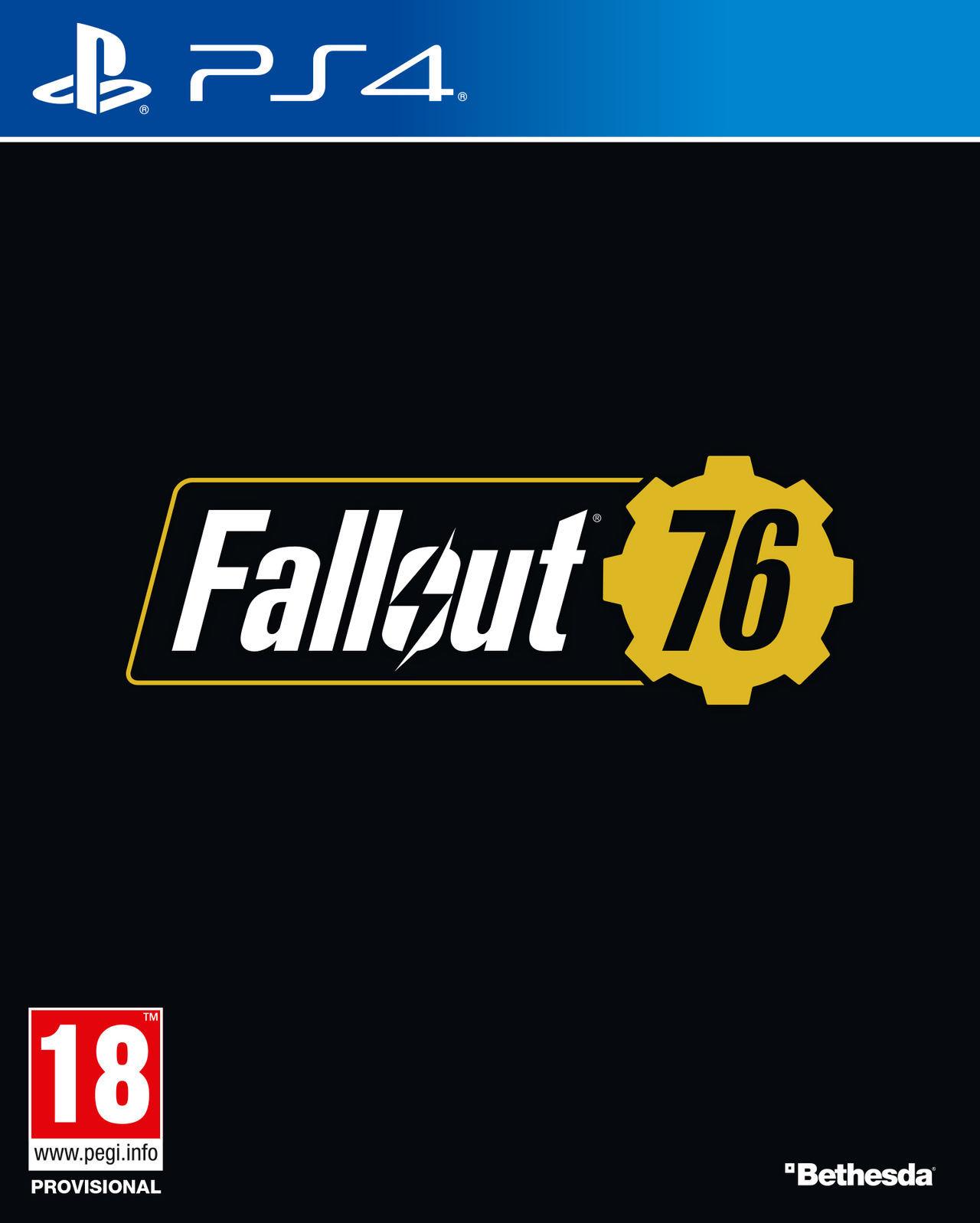 Fallout 76 PS4 Portada