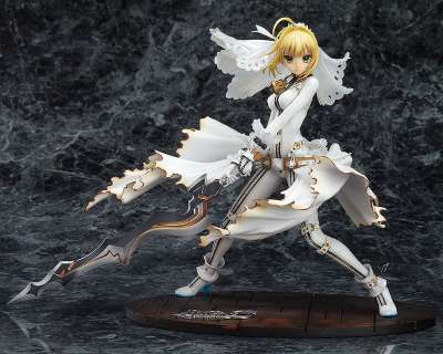 Fate Extra CCC Figura Saber Bride Good Smile 01