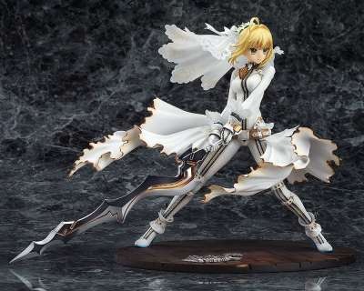 Fate Extra CCC Figura Saber Bride Good Smile 04