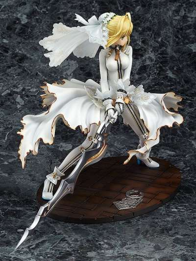 Fate Extra CCC Figura Saber Bride Good Smile 05