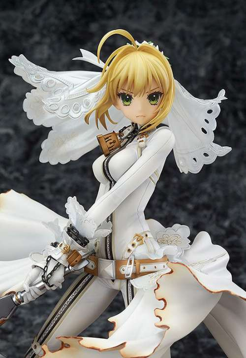 Fate Extra CCC Figura Saber Bride Good Smile 06