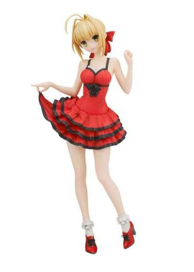 Fate Extra CCC Figura Saber Crimson Modern Costume 01