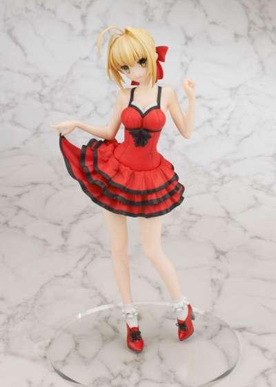 Fate Extra CCC Figura Saber Crimson Modern Costume 05