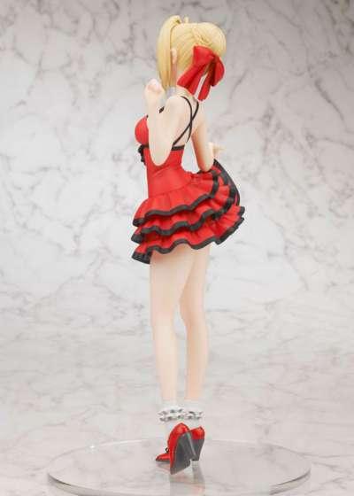 Fate Extra CCC Figura Saber Crimson Modern Costume 06