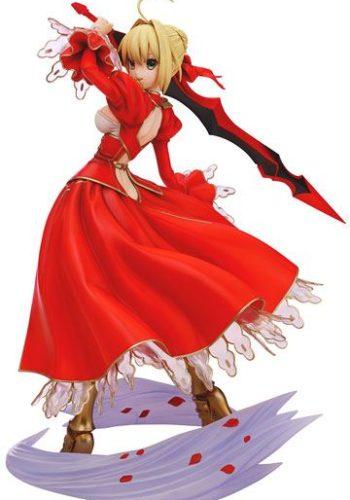 Fate Extra Figura Saber Traje Rojo 01