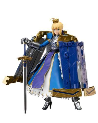Fate Grand Order Figura Armor Girls Project Saber Arturia Pendragon Variable Excalibur 01