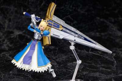 Fate Grand Order Figura Armor Girls Project Saber Arturia Pendragon Variable Excalibur 04