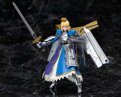 Fate Grand Order Figura Armor Girls Project Saber Arturia Pendragon Variable Excalibur 05