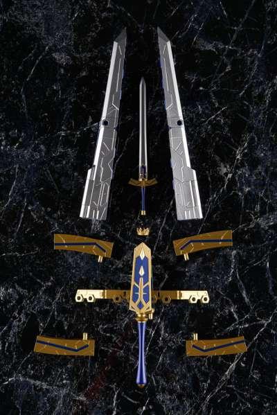 Fate Grand Order Figura Armor Girls Project Saber Arturia Pendragon Variable Excalibur 09