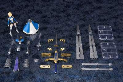 Fate Grand Order Figura Armor Girls Project Saber Arturia Pendragon Variable Excalibur 12