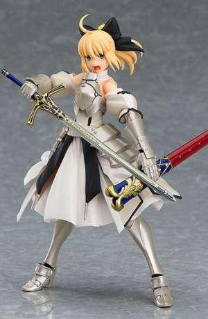 Fate Grand Order Figura Figma Saber Altria Pendragon Lily 14 cm portada