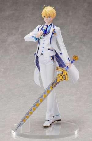 Fate Grand Order Figura Saber Arthur Pendragon Prototype White Rose 28 cm