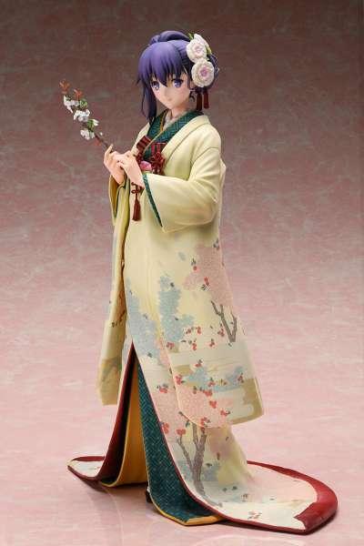 Fate Stay Night Heaven's Feel Figura Sakura Mato con Kimono 01