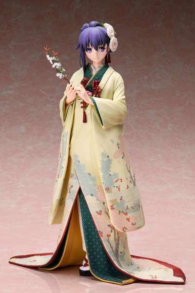 Fate Stay Night Heaven's Feel Figura Sakura Mato con Kimono 02