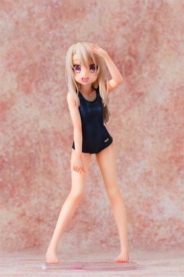 Fate kaleid liner Prisma Illya 2Wei Herz! Figura Illyasviel School Swimsuit 20 cm