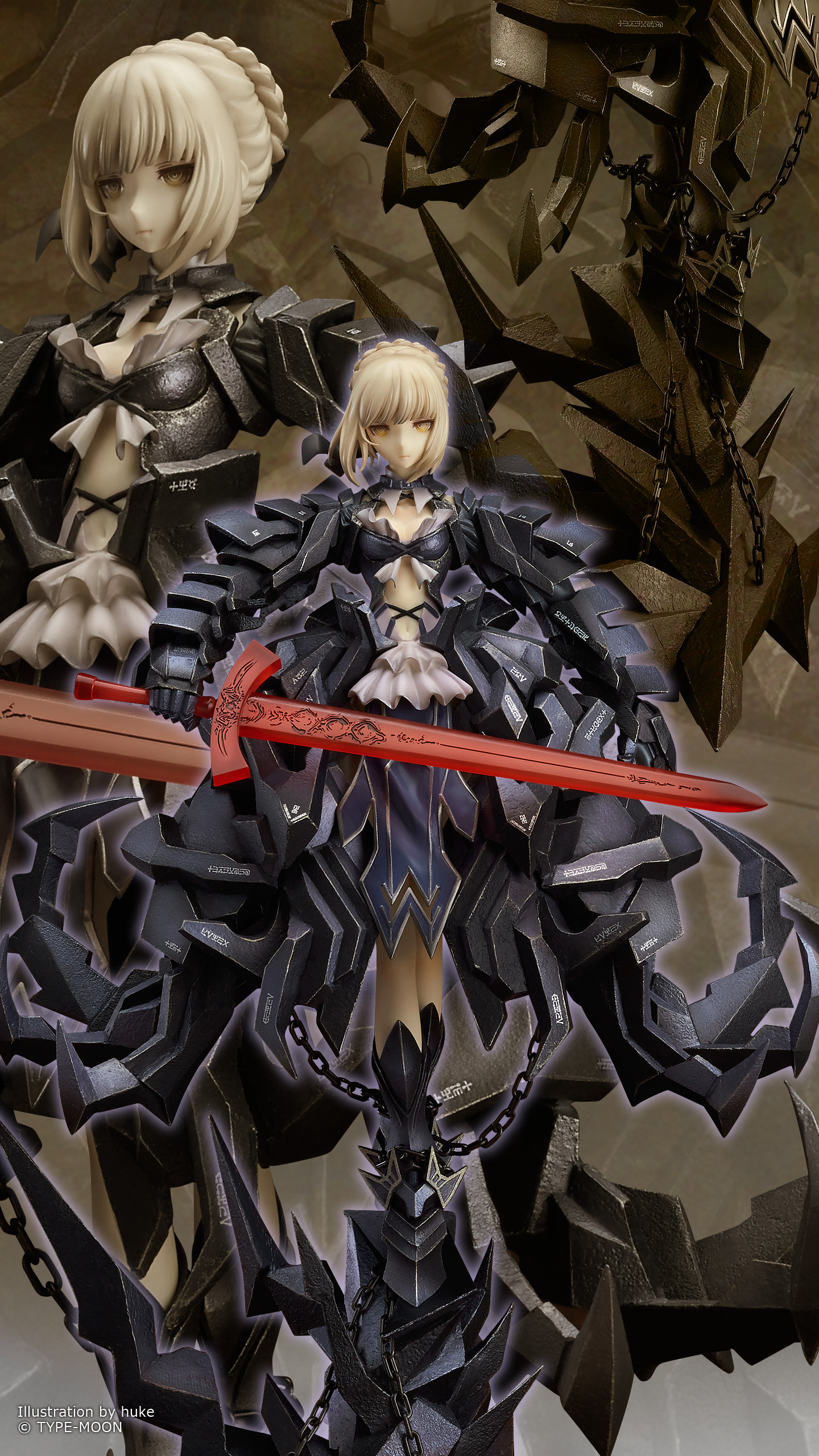 Fate/stay night Saber Alter Huke version