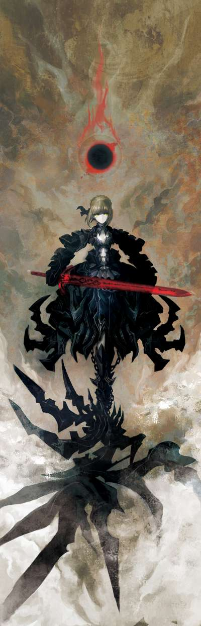 Fate/stay night Saber Alter Huke version 07