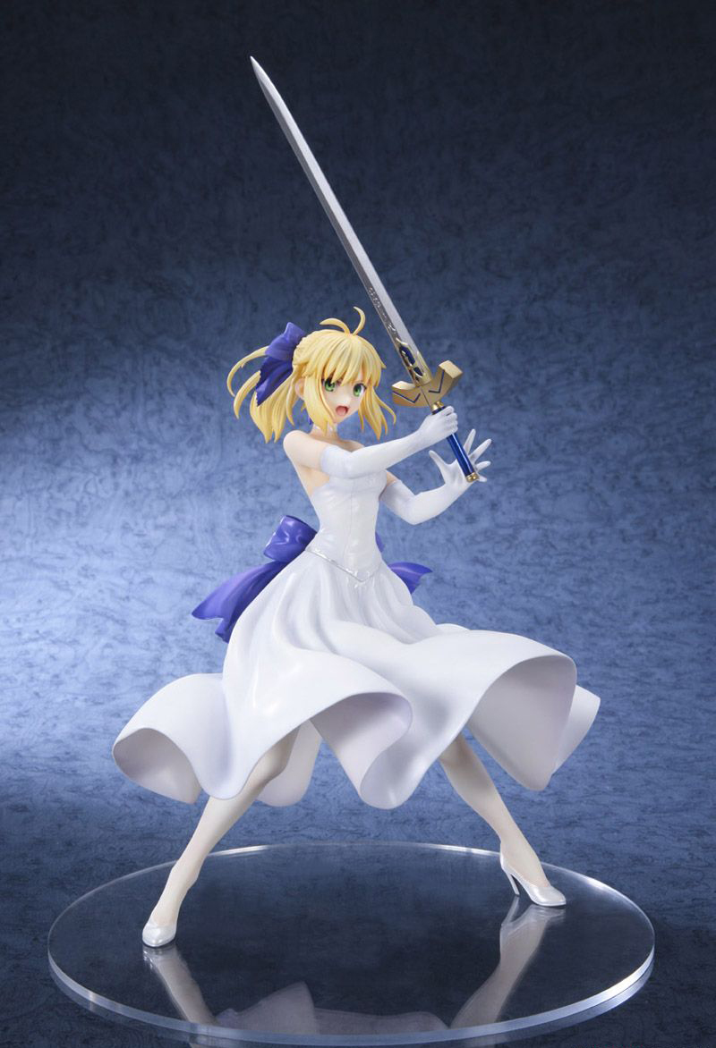 Fate stay night Saber White Dress version