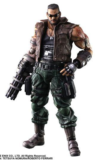Figura Barret Wallace Final Fantasy VII Remake