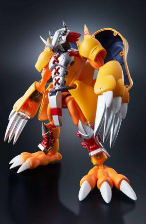 Figura Digimon Adventure Wargreymon Agumon