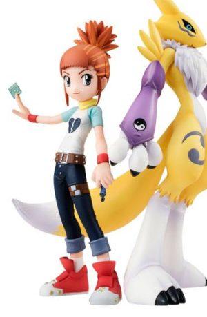 Figura Digimon Tamers Lenamon y Ruki