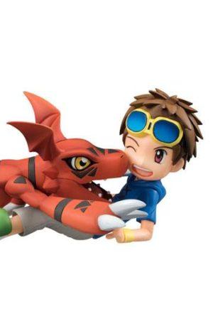 Figura Digimon Tamers Matsuda Takato y Guilmon