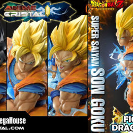 Estatua Dragon Ball Z Super Saiyan Goku Deluxe Version