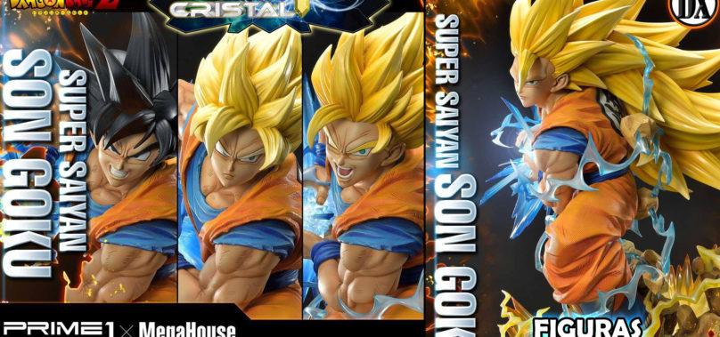 Estatua Dragon Ball Z Super Saiyan Goku Deluxe Version
