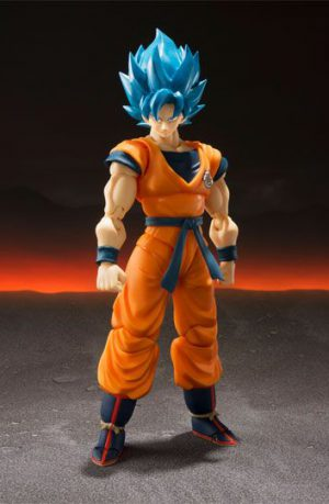 Figura Dragon Ball Super Broly SH Figuarts Super Saiyan God Goku 14 cm