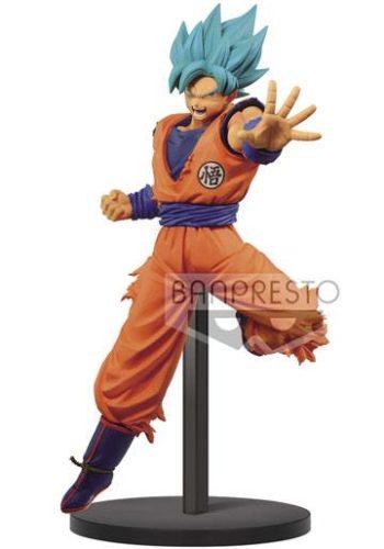 Figura Dragon Ball Super Chosenshiretsuden Son Goku SSGSS 16 cm
