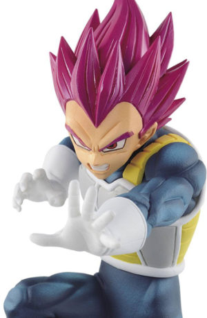 Figura Dragon Ball Super Vegeta Super Saiyan God Chosenshiretsuden 13 cm