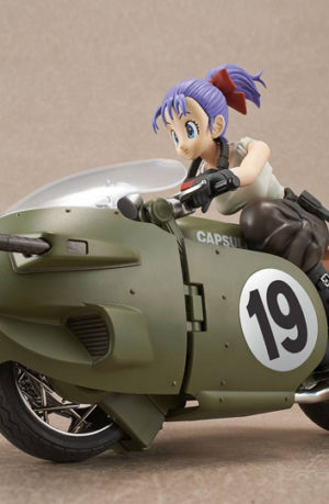 Figura Dragon Ball Z Bulma 19 Motorcycle