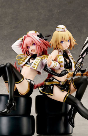 Figura Fate Apocrypha Jeanne d'Arc y Astolfo