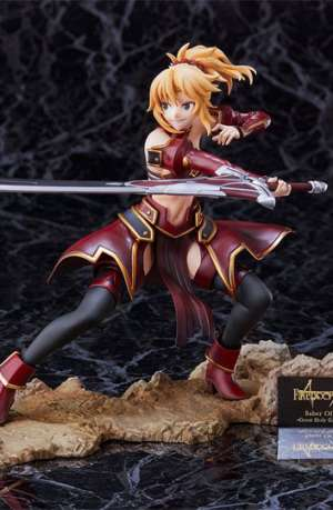 Figura Fate Apocrypha Saber of RED The Great Holy Grail War 20cm portada