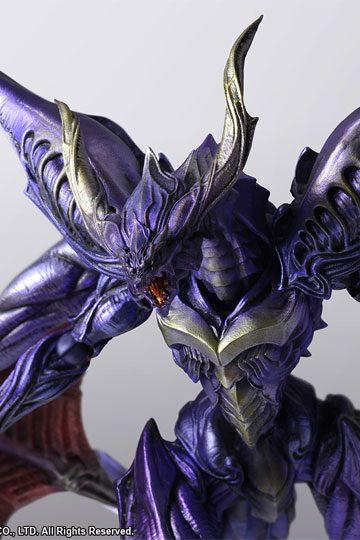 Figura Final Fantasy Creatures Bring Arts Bahamut 25 cm