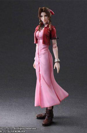 Figura Final Fantasy VII Crisis Core Play Arts Kai Aeris Gainsborough 25 cm