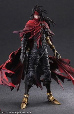 Figura Final Fantasy VII Dirge of Cerberus Play Arts Kai Vincent Valentine 27 cm