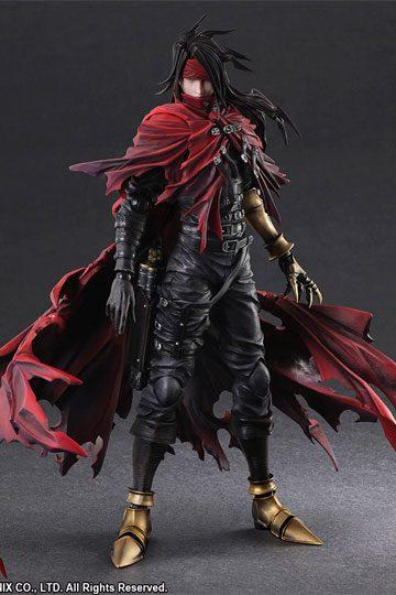 Figura Final Fantasy VII Dirge of Cerberus Play Arts Kai Vincent Valentine 27 cm
