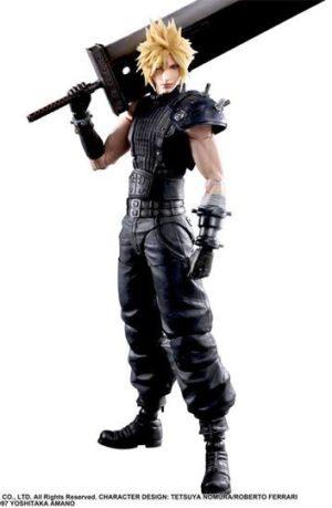 Figura Final Fantasy VII Remake Cloud Strife V2