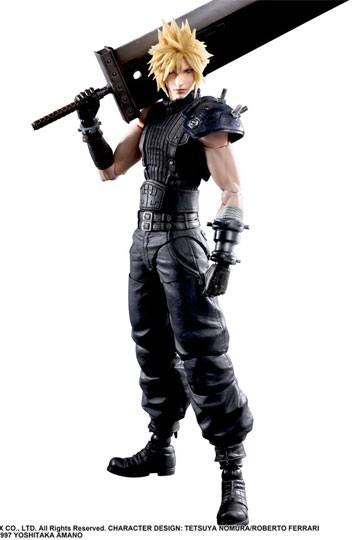 Figura Final Fantasy VII Remake Cloud Strife V2